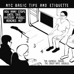 How To Survive In New York City - the second to last one is (sadly) often true!