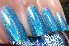 """Ocean Rush"" Layla Hologram Effect (something blue)"