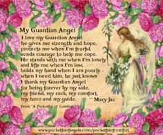Angel Blessings - Poems - Prayers - Vintage style images - Page 1