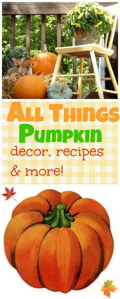 All things #pumpkin.  The best WW muffins I ever had, decor and more!