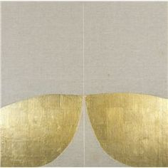 Patrick Scott-GOLD PAINTING 8/93