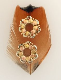 Rita. Indian Tribal Plugs. Tribal fusion belly by BeleafJewelry