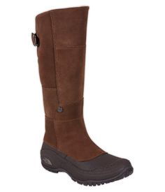 I bet These cute NORTH FACE Boots would be AWESOME in our Michigan Winters!!!❄️⛄️  YES!!! Thinking I Want a black pair too.  (ANNA PURNA TALL BOOT)