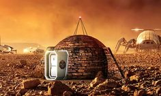 The 'igloo' that could be man's first home on Mars