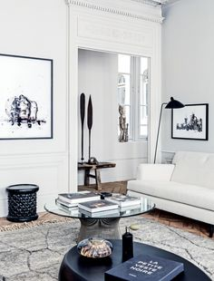 House tour: a modern French apartment within an opulent 19th-century shell…