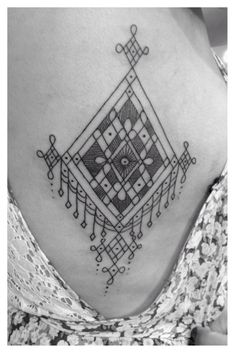 Awaken Tattoo & Gallery - Chicago, IL, United States. Delicate amulet, Berber style Tattoo Gallery, Henna Designs, Hamsa, Blackwork, Arts And Crafts, Delicate, Make Up, Symbols, Ink
