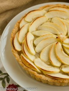 French Apple Tart from @Liz Berg (That Skinny Chick Can Bake!!!)