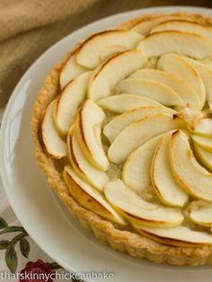 French Apple Tart from @Liz Berg (That Skinny Chick Can Bake!!!)