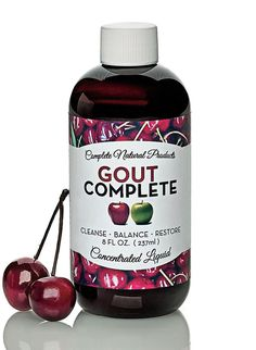 Gout Complete at http://www.FeelGoodSTORE.com.