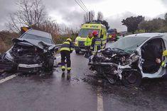 Dois feridos em colisão na Estrada Nacional 373 | Portal Elvasnews