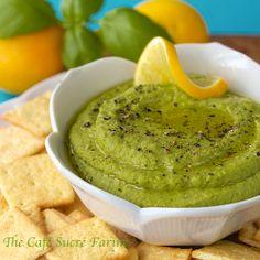 Lemon, Fresh Herb & Sweet Pea Hummus