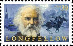 """Henry Wadsworth Longfellow (1807-1882) rooted his poetry in European forms and traditions while exploring many uniquely American subjects. One of the most popular poets of the 19th century, he is remembered for lively narrative works such as """"Paul Revere's Ride"""" and """"The Song of Hiawatha."""""""