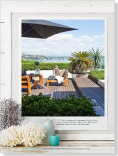 Homes: Home & Away. Clipped from Home Beautiful using Netpage.