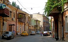 https://flic.kr/p/8voyYN | Odesa / Одеса (Ukraine) - Воронцовський провулок | Vorontsovskyi provulok, a street in the city centre of Odessa.