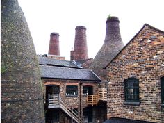 Staffordshire Pottery in Stoke on Trent, England- where many of the best Pottery is made