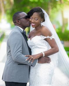 Holding on to love! photography by @holisonconcept mua @marion_km event planned by @omanye_events #like4like #instabride #bridalinspiration #picoftheday #groom #instalove #wedding #kiss #ring #love #TheAbbeys16