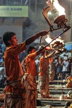 #Varanasi #India #Spirit #Cermony