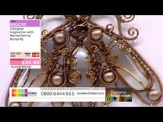 [How to make a Wirework Butterfly] - JewelleryMaker DI 1/2/15 - YouTube