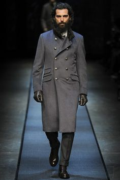 Canali A/W 2013-14 #russian #coat #MilanCollections