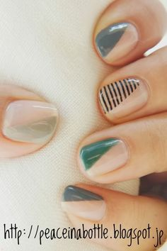 simple, beautiful manicure idea
