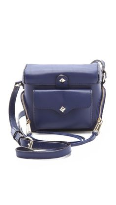 rebecca minkoff camera bag navy
