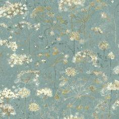 Plant Wallpaper, Botanical Wallpaper, Wallpaper Roll, Peel And Stick Wallpaper, Bedroom Wallpaper, Wallpaper Borders, Wallpaper Designs, Wallpaper Ideas, Floating Garden