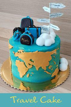 Travel-Map Cake » CakeLovesMe