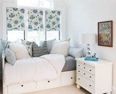 Splashy Ikea Hemnes Dresser technique Toronto Transitional Bedroom Image Ideas with bed storage custom pillows custom roman blinds girls bedroom roman shade