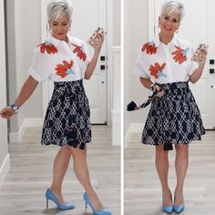 Platinum Pixie, Chic Over 50, Fall Lookbook, Purple Shampoo, Silver Hair, Mode Outfits, Black Skinnies, Looking For Women, High Waisted Skirt