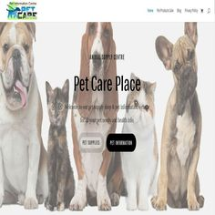 Pet Care  Wordpress  Website   automated/ money maker /ecommerce ready Pet Care, Ecommerce, Your Pet, Pet Supplies, Wordpress, Web Design, Money, Website, Pets