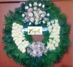 #funeralwreath  #coronafunebre www.floreriazazil.com Tel. 01 998 2061951 Cancún, Quintana Roo. México.