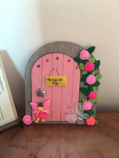 Fairy Door mothers day fairy accessories by magikallittlethings