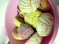 Hubs says he has connections for pan dulce/sweet bread not DONUTS LOL