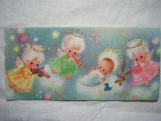 vintage pastel angels
