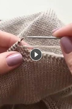 Needle Stitch Closure Technique - All Knitting Videos Cable Knit Blankets, Knitted Throws, Headband Pattern, Beanie Pattern, Crochet African Flowers, Granny Square Bag, Popular Crochet, Knitting Videos, Knitting Patterns