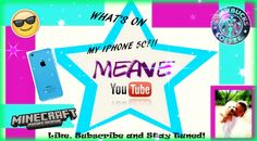 Own edited thumbnail for my vid that just uploaded on YouTube check it out!  Three Awesome Girls channel:https://www.youtube.com/channel/UC886N6rpDzERUMHxil5wzJw  The What's on my IPhone 5c vid:                                                                 https://www.youtube.com/watch?v=TPL-ckv3KXQ&index=2&list=PL2C0zKpREKp-SrsqCy70_G6osUjYeYdyL