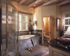 Image detail for -Modern Cabin Bathroom