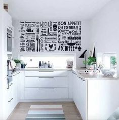 Vinilo Decorativo Cocina Mural Palabras Argentinas Tramas - $ 400,00