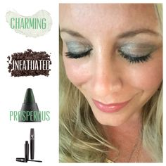 Charming splurge cream shadow, infatuated mineral pigment, prosperous liner & 3D mascara. Love the endless variety of looks you can create! #charming #splurge #infatuated #makeup #younique