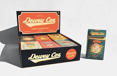 Dewey Cox Candy Cigarettes on Behance