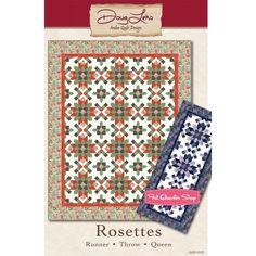 Rosettes Quilt PatternAntler Quilt Design #AQD-0242