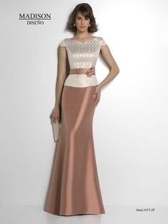 Vestido de madrina, #madison #wedding #fashion #dresses #madrinas #bodas www.grupo-madison...