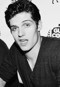 """Daniel Sharman. Well, """"hey"""" to you, too....... can a mouth be cute? Its just the cutest mouth ive seen today.  The day is made!"""