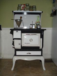 beautiful wood cook stove