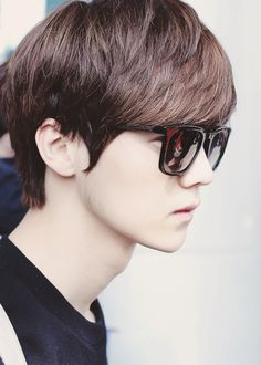 Luhan's chinese. He doesn't look like it.