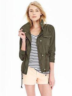 Womens Canvas Field Jackets