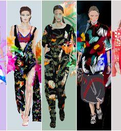 Printy - trendy wiosna lato 2014