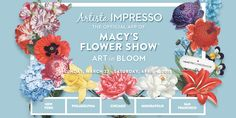 Artista Impresso for iOS/Android is the Official App of Macy's Spring 2015 Flower Show! ON SALE NOW for 99¢