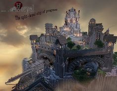 Vorpal City Steampunk Map for Minecraft and Amazing Minecraft, Minecraft Stuff, Minecraft Steampunk, Steampunk House, Victorian London, Minecraft Creations, Big Ben, City, Building