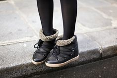 Isabel Marant - Nowles moon boots hiver 2013